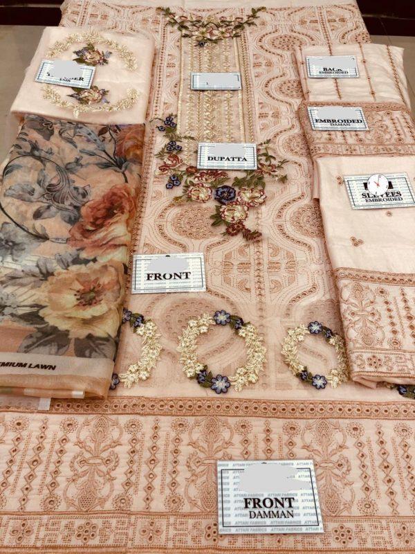 Brand Elaf Luxury Lawn Collection Dress Design