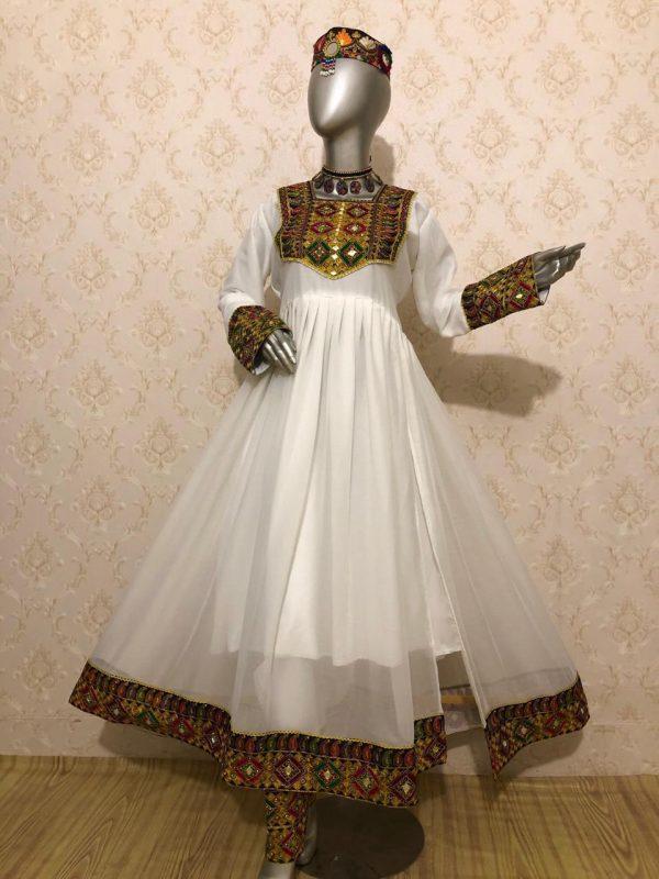 Afghani Dress Side Cut