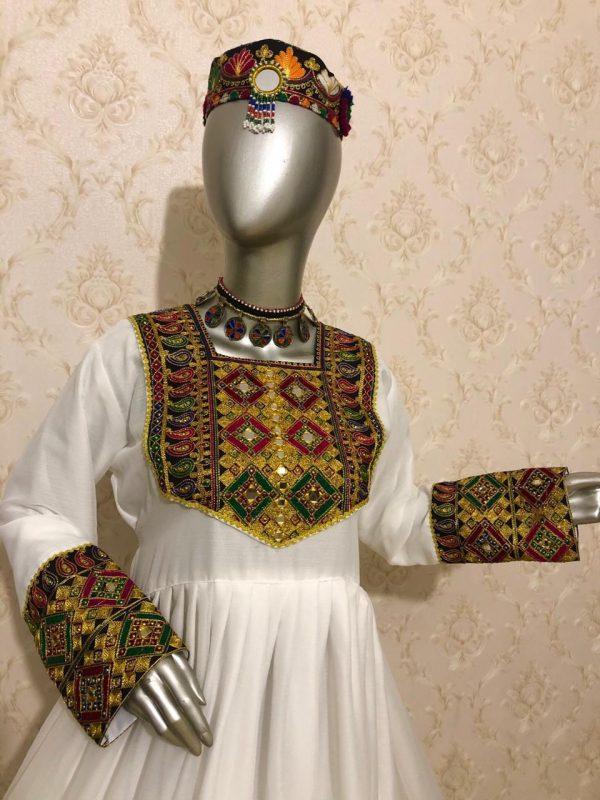 Afghani Dress Design