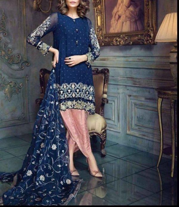 Aayra Master Replica Chiffon Fabric Dress