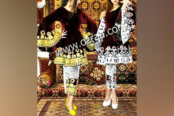 New Design Afghan Dress for Girls