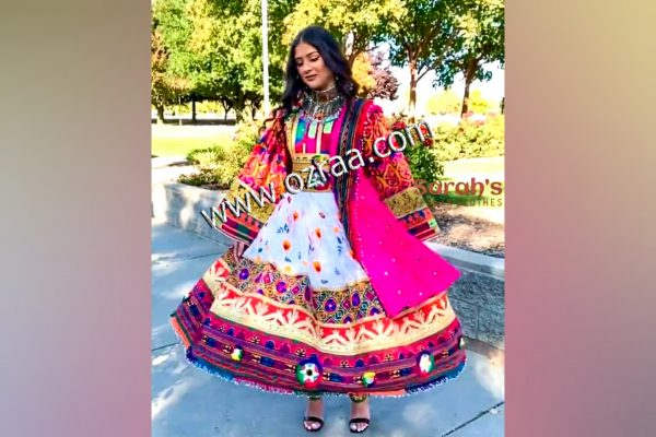 Beautiful Embroidery Afghani Dress in New Design