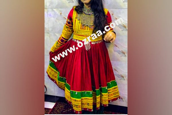 New Afghan Party Dress for Girls