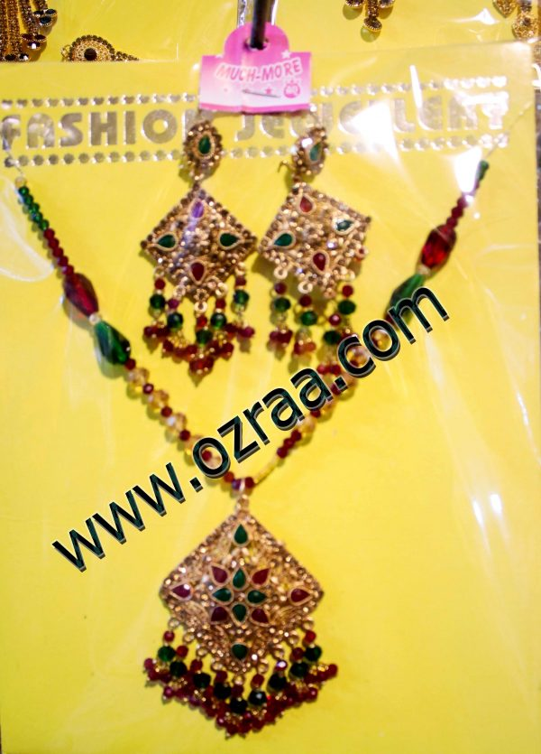 New Design Afghan Jewelry in Necklace and Earrings