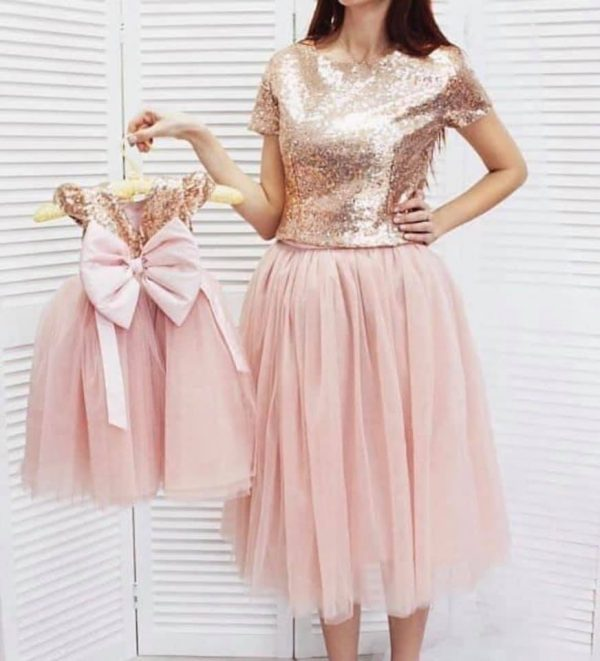 Beautiful Pink Color Dress in New Style
