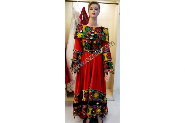 New Afghan Dress Heavily Embroidered