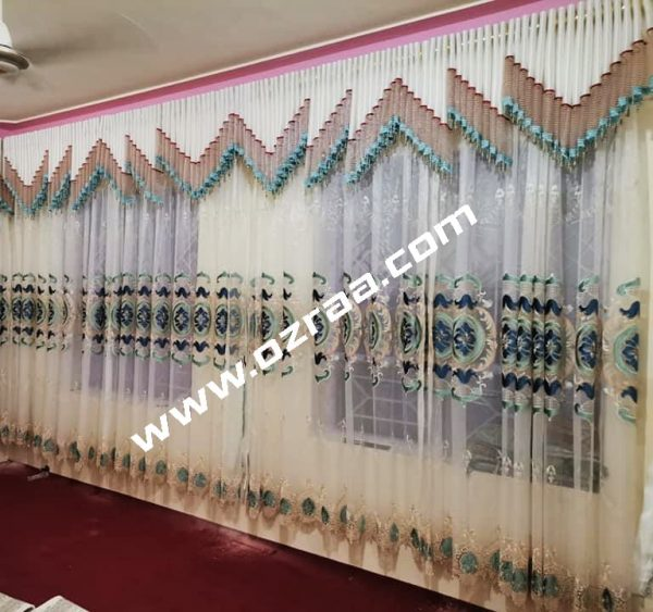 Best Chiness Fabric Curtain and Blind Design