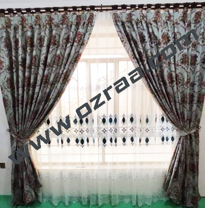 Curtain and Blind Chinese Design for Living Room Windows