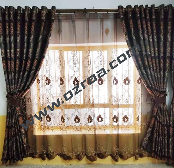 Traditional Chinese Curtain and Blind for Windows