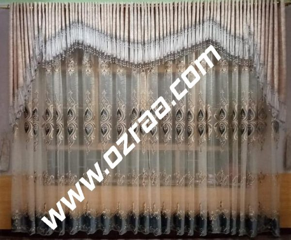 Curtain and Blind new Design in Chiness Fabric
