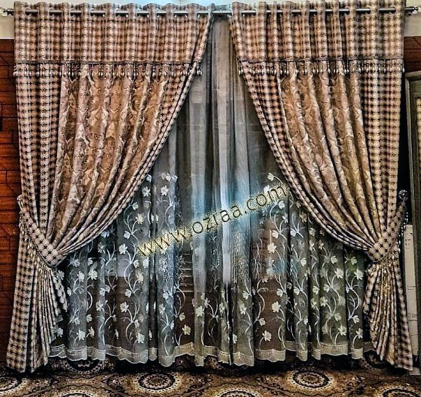 Fancy Curtain and Blind Design