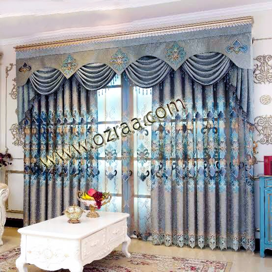 Luxury Curtain and Blind Design for Windows