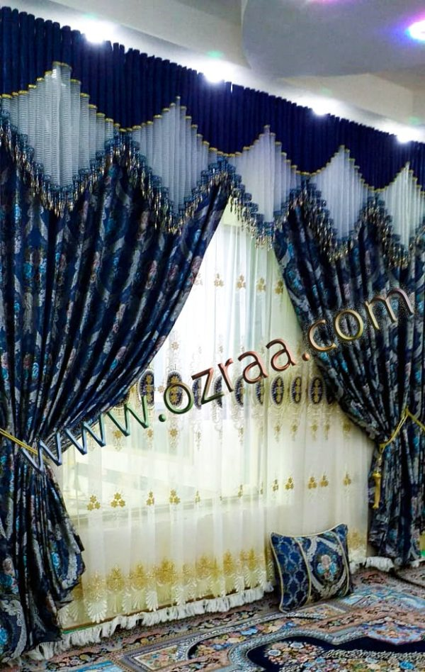 Lovely Design of Windows Curtain and Blind in Chinese Fabric
