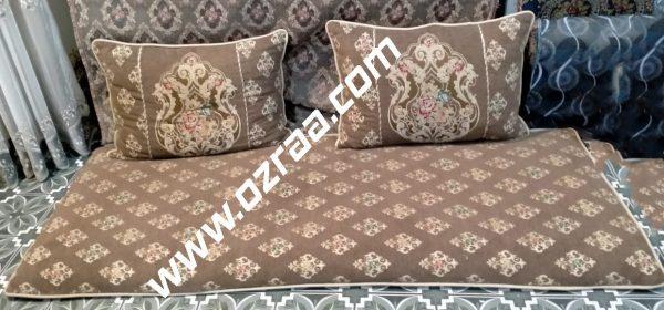 Cushion and Mattress Case Design in Pakistani Fabric