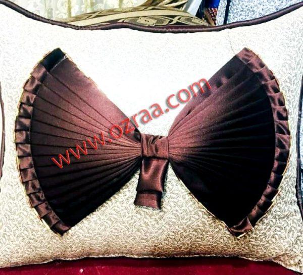 Cushion Cover in Tie Design