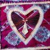 Lovely Heart Design Cushion Cover
