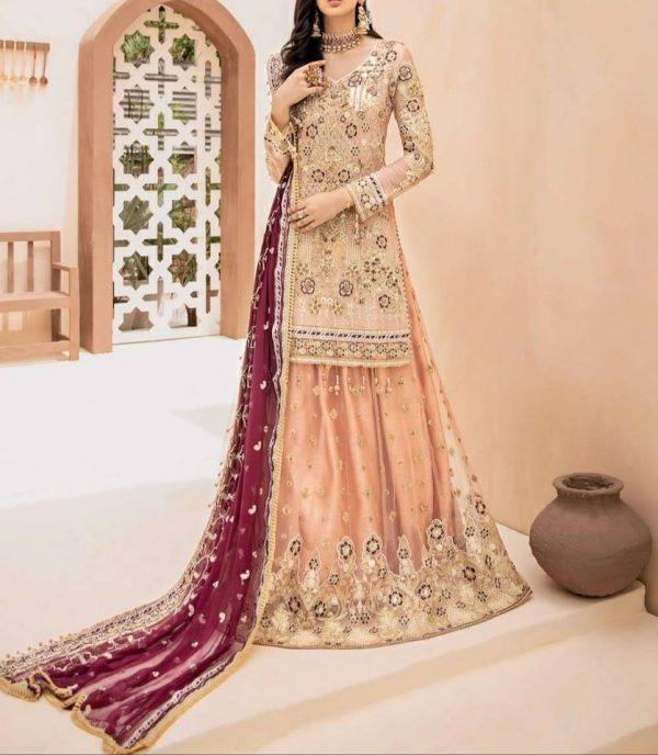 Eman Adeel Master Replica Pure Chiffon and Organza Fabric