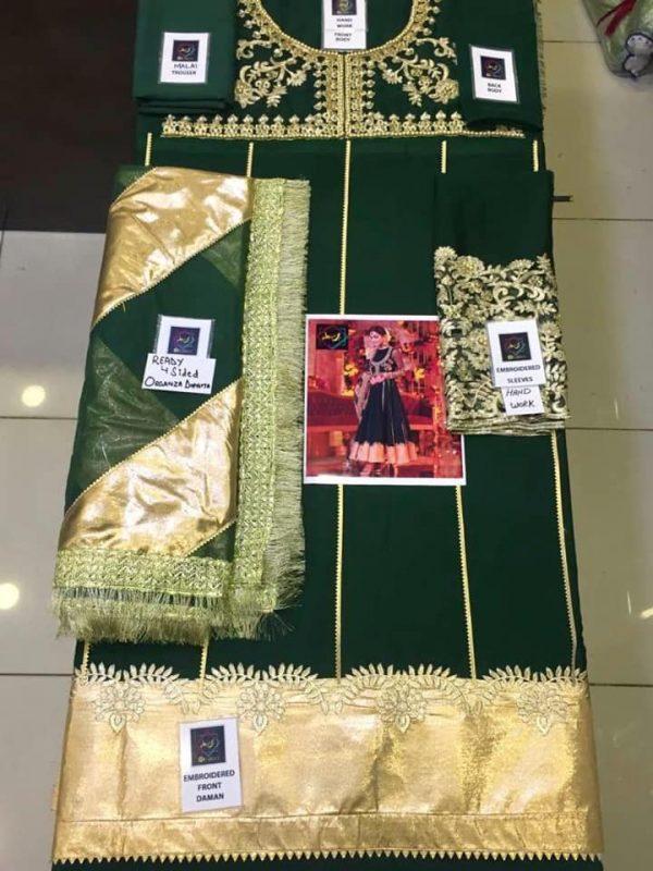 Faiza Collection Wedding Cloth Details