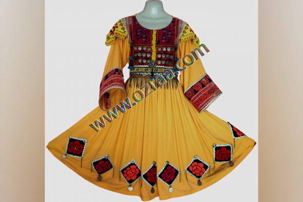 New Design Gande Afghani Dress for Ladies