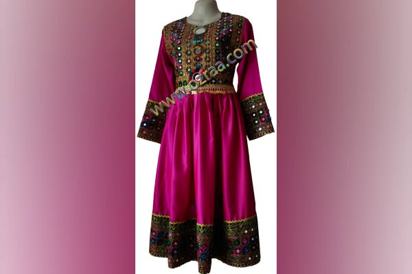 Afghani Dress Style for Girls