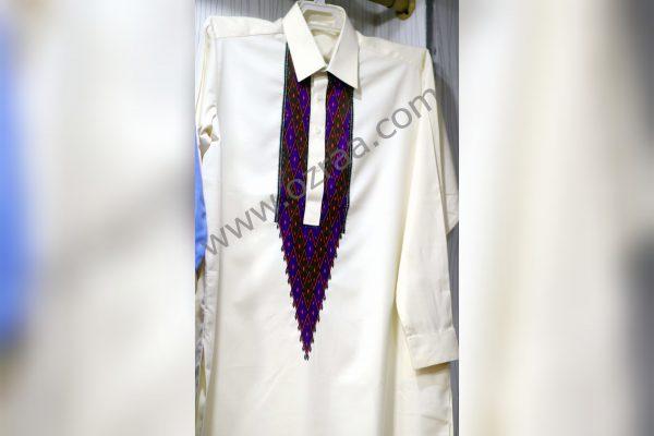Embroidered Hazaragi Qabtomar Cloth Design for Man