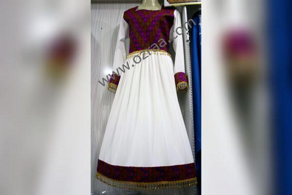 Embroidered Shirt, Skirt, Waist and Trouser in Hazaragi Qabtomar Dress