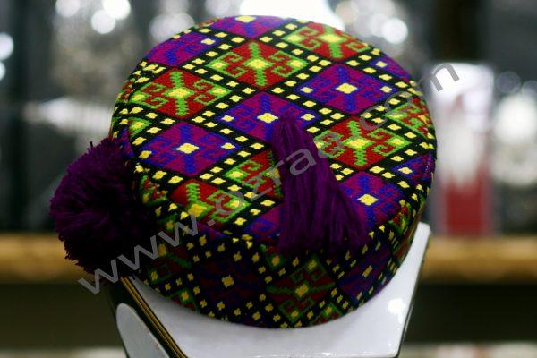 Hand Made Hazaragi Qadtomar Cap New Design
