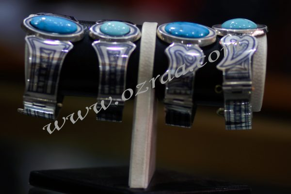 Afghan Diamond Bracelet Irani Firoza Kermani