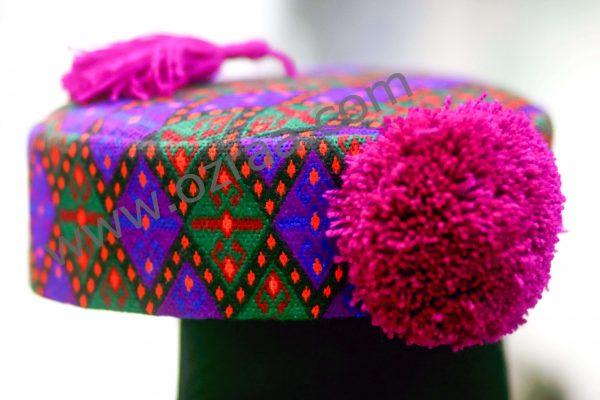 Hazaragi Qabtomar Soft Design Cap