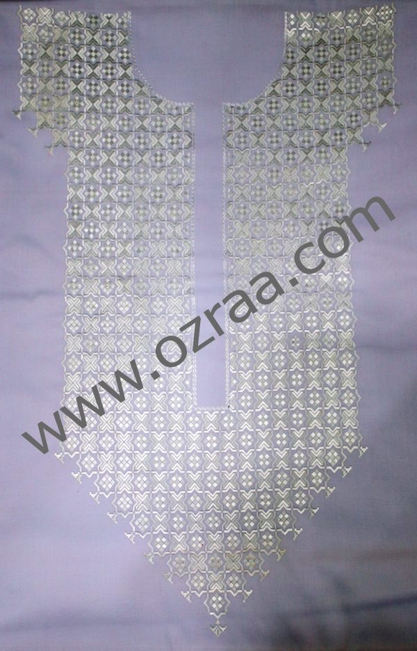 Soft Embroidery Hazaragi Neck Style