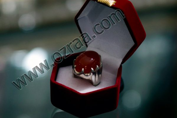 Man Diamond Ring Stone Irani Sabarjat