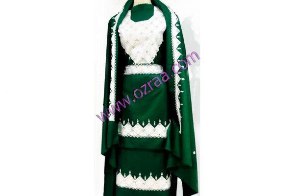 Beautiful New Arrival Hazaragi Shall Dress in Green