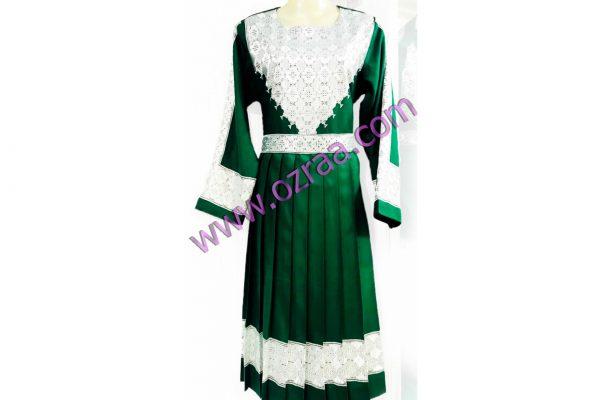 Embroidery Hazaragi Shall Dress New Cloth in Green