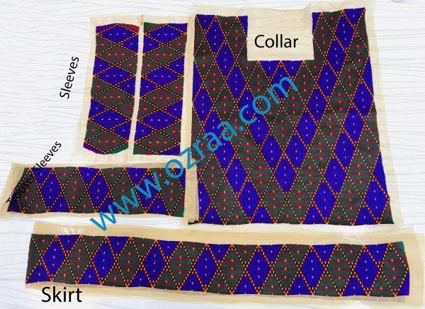 New Arrival Collar, Sleeves, Skirt, Trouser Sleeves Hazaragi Dress Design
