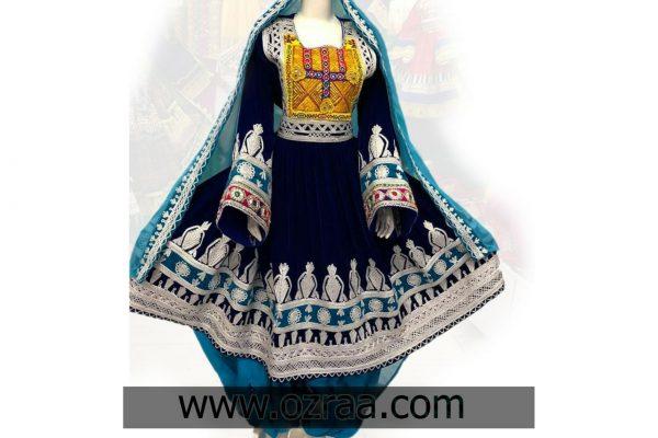 Velvet fabric and Silver Cherma Dozi