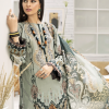 Farasha 3Pcs Embroided Linen Suit with Wool Shawl