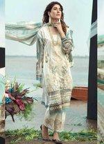 Firdous Fashion Embroidered Lawn Unstitched 3 Piece Suit