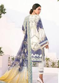 Baroque Ashnah Fuchsia Linen UnStitched 3Pc Suit