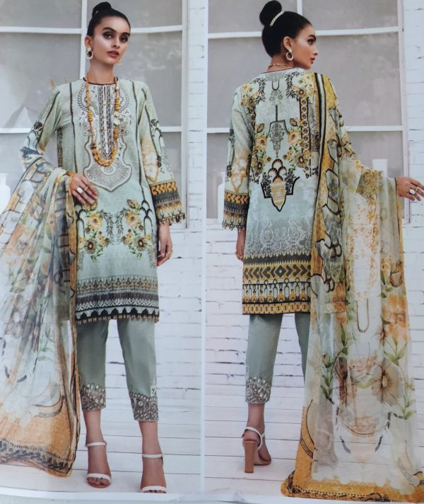 New Design Baroque Lawn Cotton in Best Quality