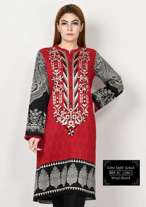 3Pc Dhank Embroidered Unstitched