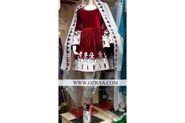 New Design Gand Afghani Cherma Dozi Dress