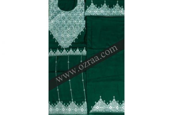 Hazaragi Shall Dress Hand Made in Green