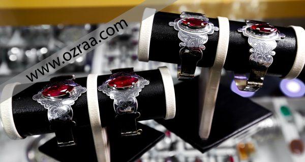 New Hazaragi Bracelet in Diamond with Original Stone Haqeq
