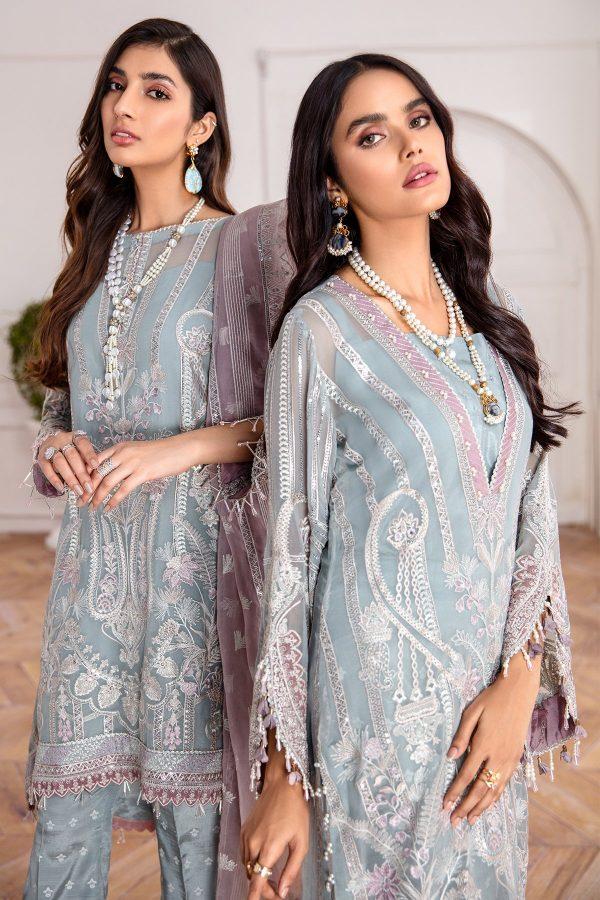 Jazmin Mahpare Liana Embroidered Chiffon Front