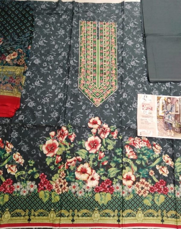 Ruqayyah's Flower of the East Linen by Emadi Textiles