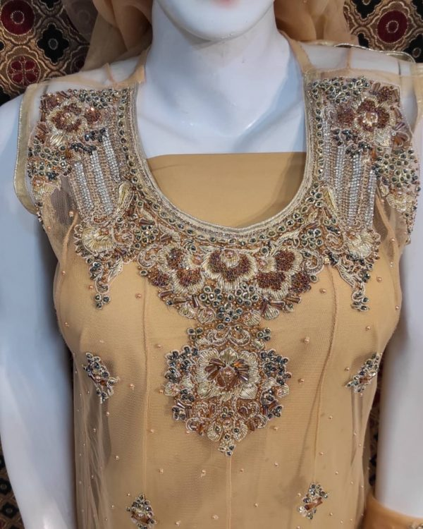 New Design Bridal Suit Frock for Wedding