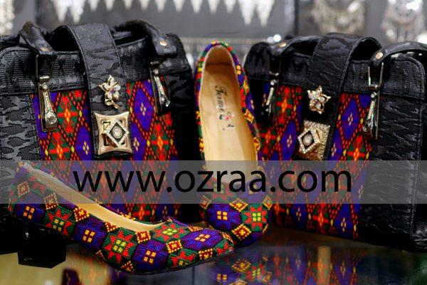 Hazaragi Culture Qabtomar Bag and Shoes