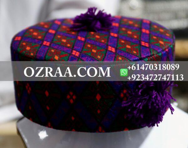 Hazaragi Culture Cap Hand Made