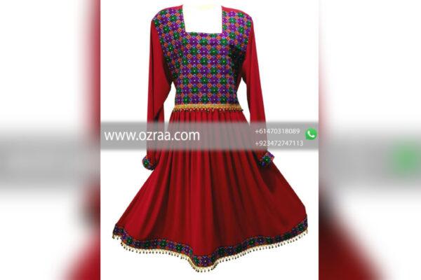 Beautiful Hazaragi Qabtomar Dress High Quality Hand Made
