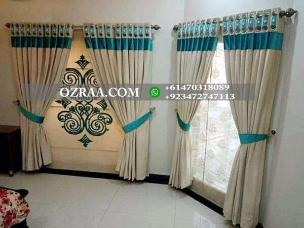 Fancy Curtain Design for Window and Door